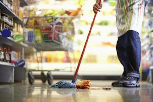DuPage County personal injury attorney, supermarket spills